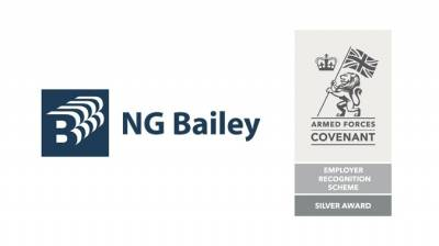 NG Bailey honoured with Defence Employer Recognition Scheme Silver Award
