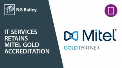 It's gold again for NG Bailey IT Services