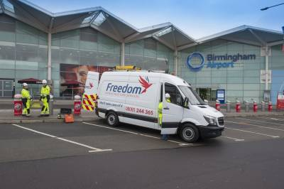 Freedom's Professional Services business completes survey works on large grid substation