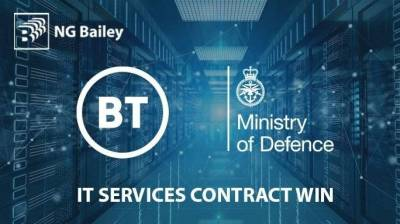 NG Bailey secures new IT Services contract with BT