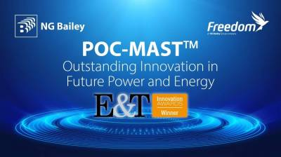 POC-MAST wins Engineering and Technology Innovation Award