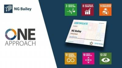 NG Bailey's support for UN Sustainable Development Goals recognised