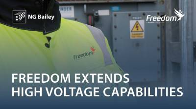 Freedom (an NG Bailey Group company) extends its engineering and services capabilities with the acquisition of the HV Services division of Fundamentals Limited