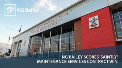 NG Bailey scores success with 'saintly' maintenance services contract win