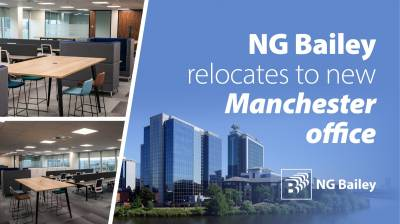 NG Bailey relocates to new Manchester office