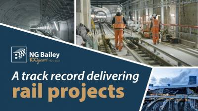 A track record delivering rail projects