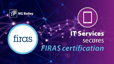 IT Services secures FIRAS fire stopping certification