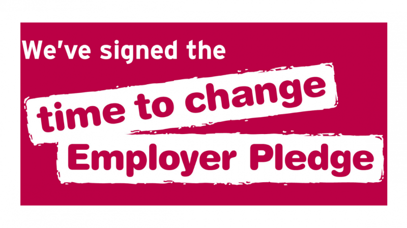 NG Bailey furthers its commitment to employee wellbeing by signing the Time to Change Employer Pledge