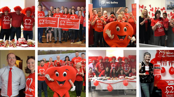 New Charity Partnership with the British Heart Foundation