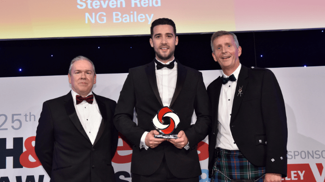 Success for Steven at H&V News Awards