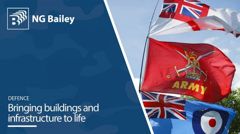 NG Bailey showcases its engineering and services capabilities to Defence sector