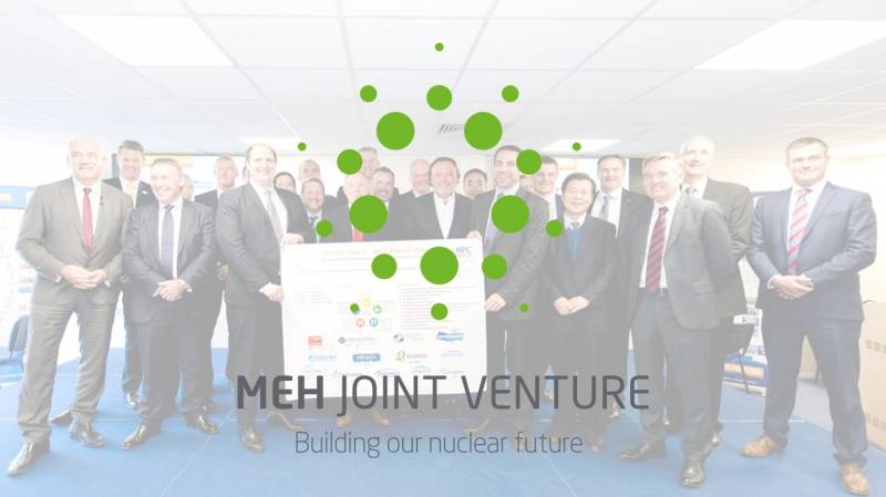Collaborative new joint venture to deliver engineering and support services works at Hinkley Point C
