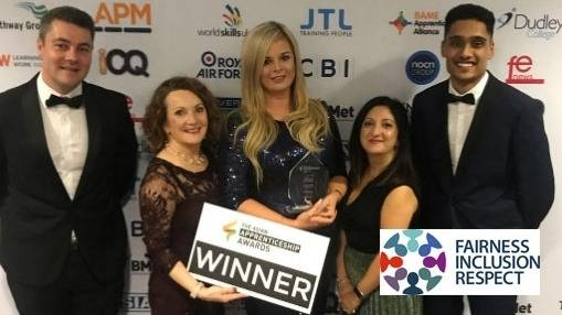 Asian Apprenticeship Award Success